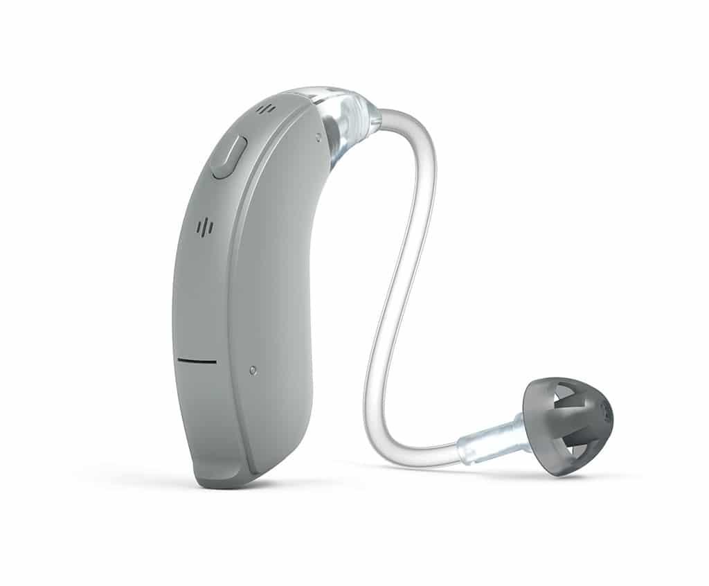 Abbildung Hörgerät grau
