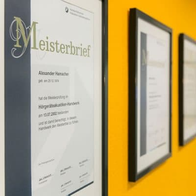 Abbildung Zertifikate