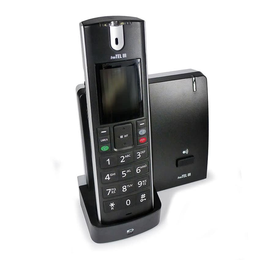 Abbildung freeTelI Schwerhörigentelefon schnurlos