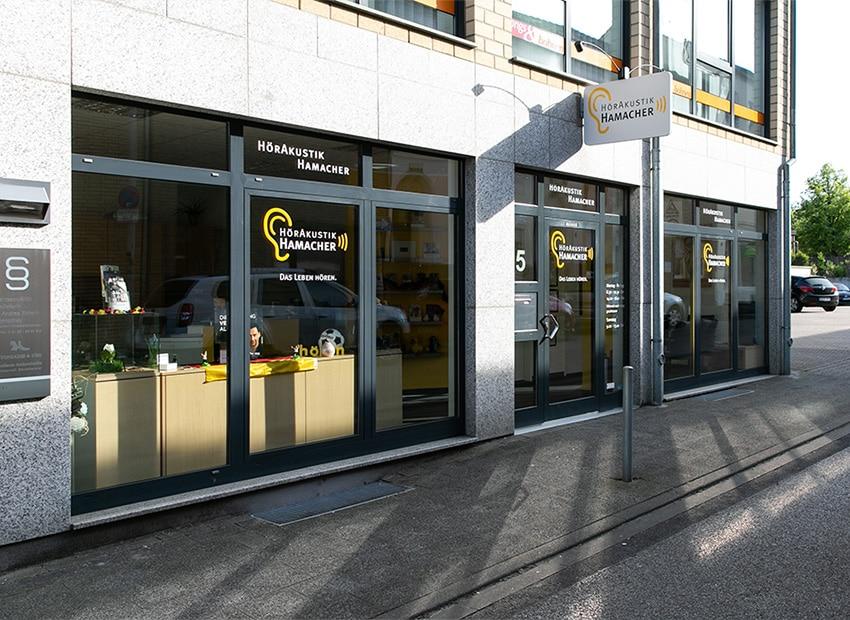 Abbildung Eingang Wickrath